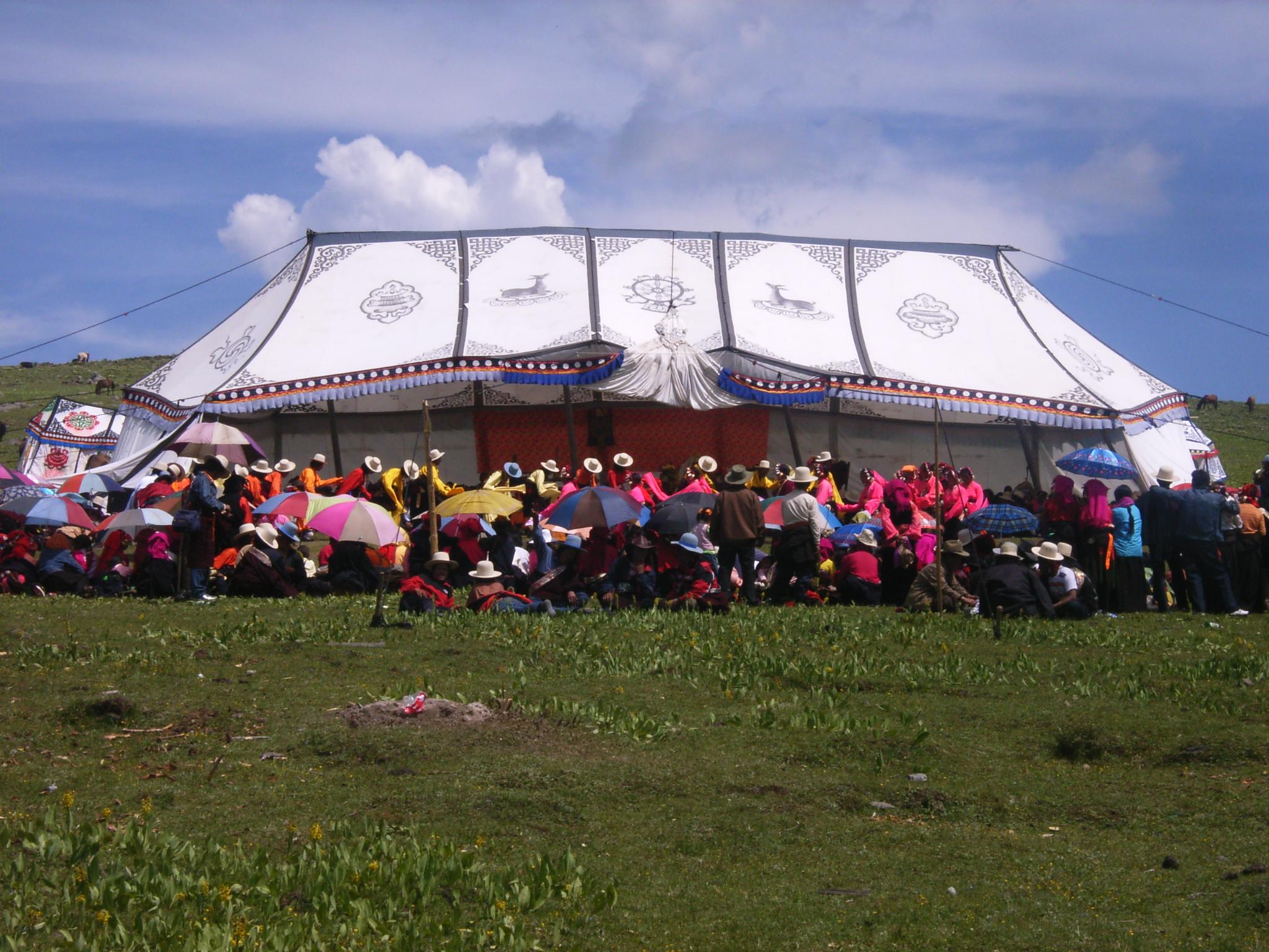 festival-tibetain