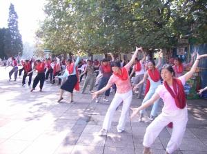 kunming-danse